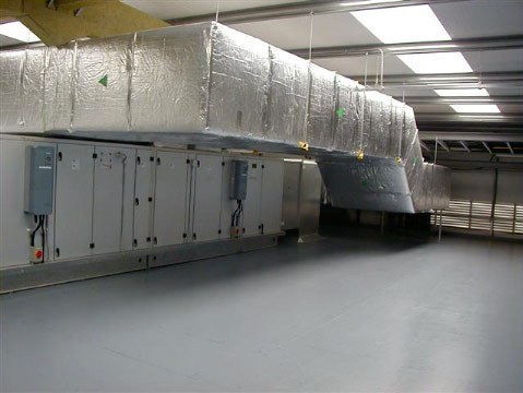 Air Ducts for the air conditioning